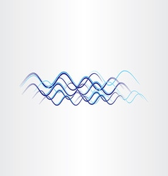 Radio waves frequency icon vector