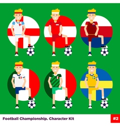 Football Kit 2 vector image