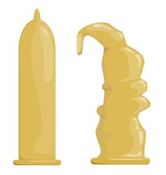 Condoms EPS10 vector image