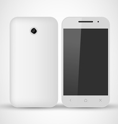 Common White SmartPhone vector image