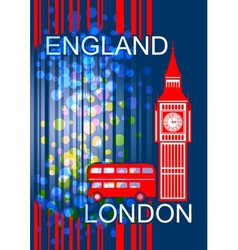 England London vector image