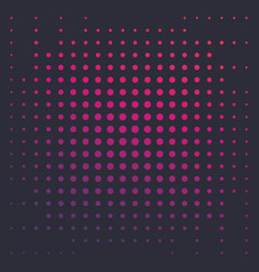Halftone background with colorful dots vector