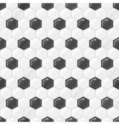 Seamless Football Texture vector image vector image