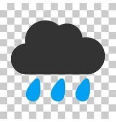 Rain cloud icon vector
