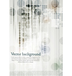 Modern technical background vector