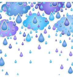 background for text with drops vector image vector image