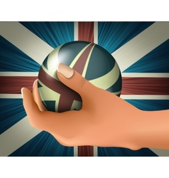 British flag vector image vector image