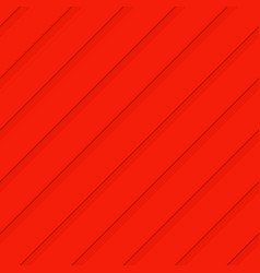 Red seamless 3d diagonal stripe pattern background vector