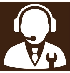 Service manager icon vector