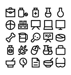 Science and technology icons 9 vector