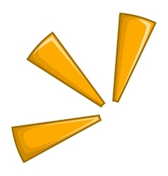 Click icon cartoon style vector