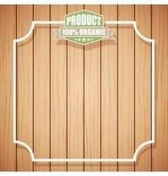 Eco organic background vector