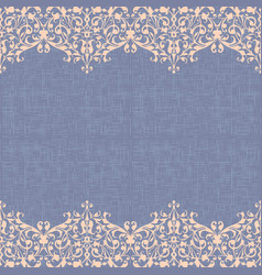 Canvas seamless pattern background vector