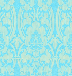 Seamless light abstract striped floral pattern vector