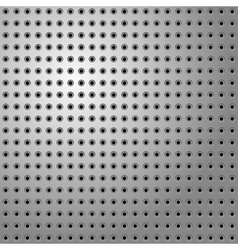 perforated steel vector image vector image