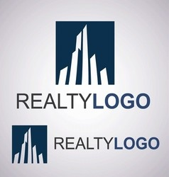 Realty logo 1 2 vector