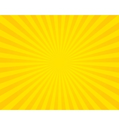 Yellow flare background vector image