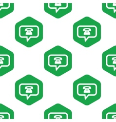 Phone message pattern vector