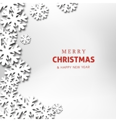 Merry christmas and happy new year celebration vector