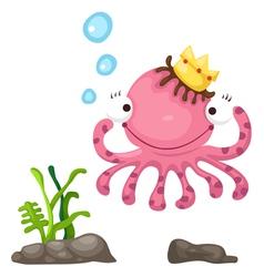 An octopus vector