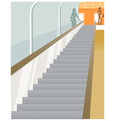 Escalator vision vector