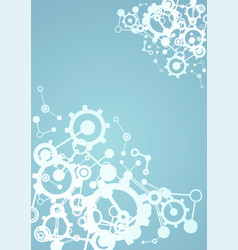 Imaginative tech background vector