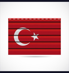 Turkey siding produce company icon vector image