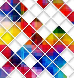 Abstract multicolored with small net vector