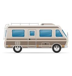 Car mobile home 01 vector