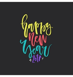 Unique new year lettering vector
