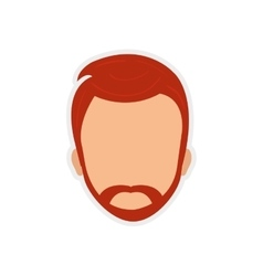 Man male head avatar person icon graphic vector