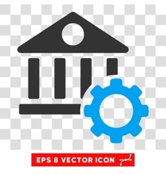 Bank options eps icon vector