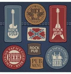 pub with live music vector image