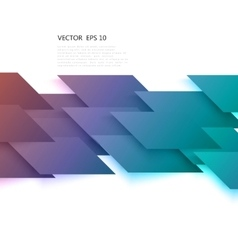 Abstract geometric shape from gray diagonal vector