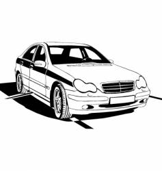 car background vector image vector image