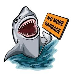 The Shark vector image