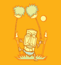 Witch Doctor vector image