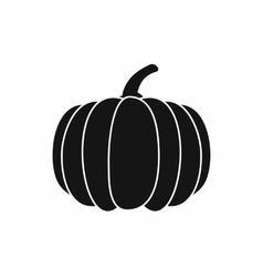 Pumpkin icon simple style vector