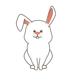 Rabbit bunny pet vector