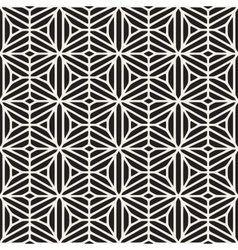 Seamless black and white ethnic geometric vector