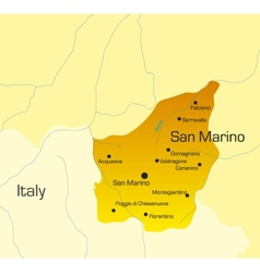 San marino country vector