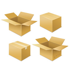 Box free shipping icon vector