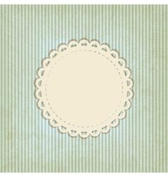 Retro striped background vector