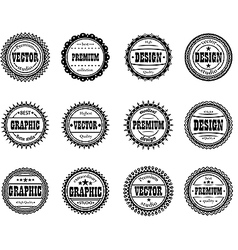 Set award icon for design studios vector
