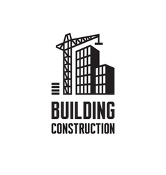 Building construction logo vector