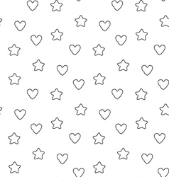 Favorite seamless pattern vector