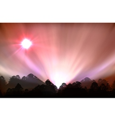 Ial of aurora polaris vector