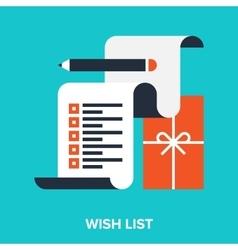 Wish list vector