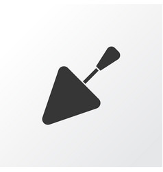 trowel icon symbol premium quality isolated vector image