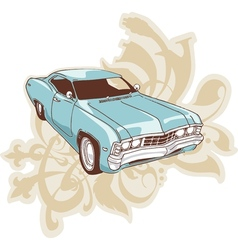 Retro low-rider vector